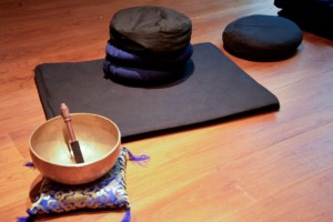 mindfulness meditation room